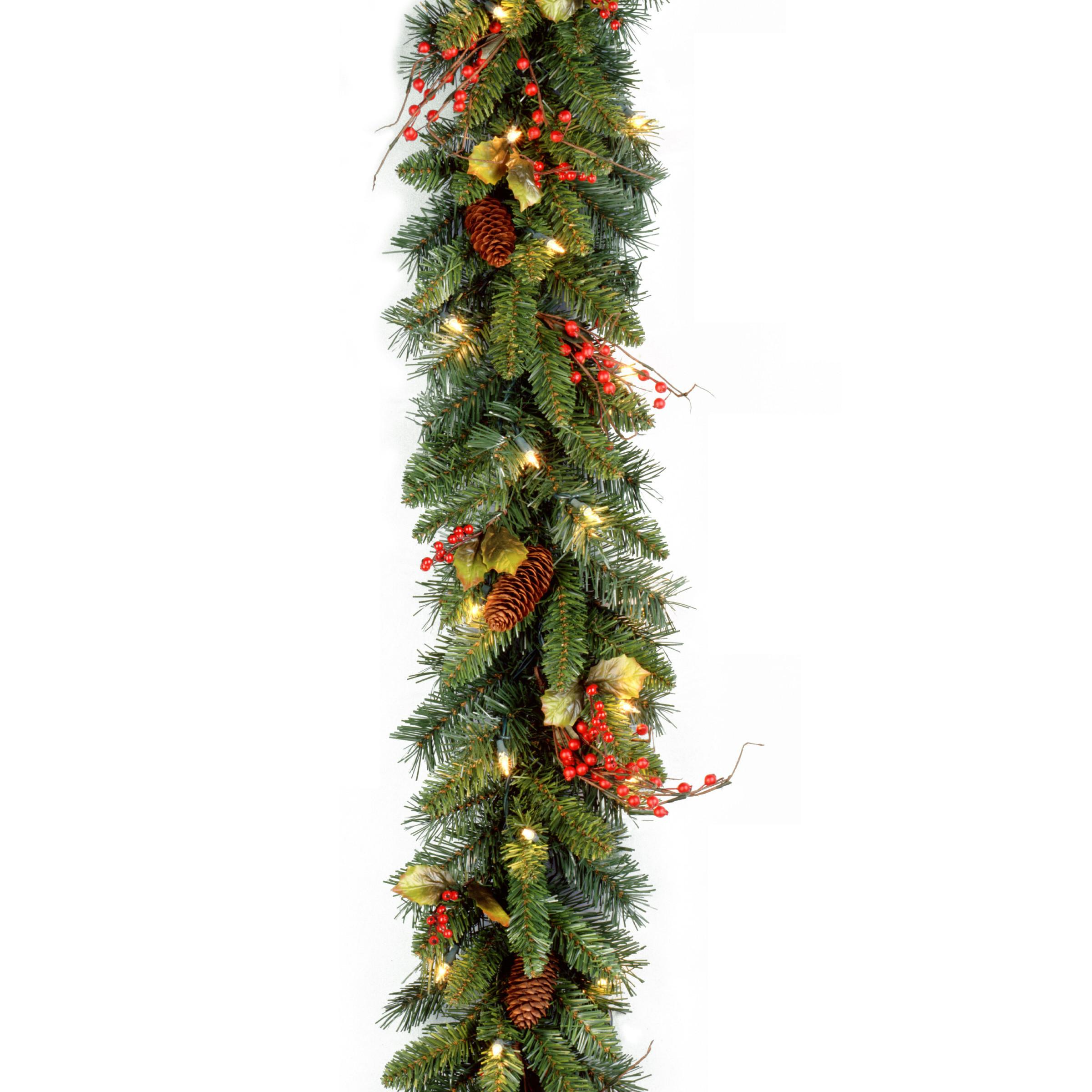 National Tree Pre Lit Classical Garland