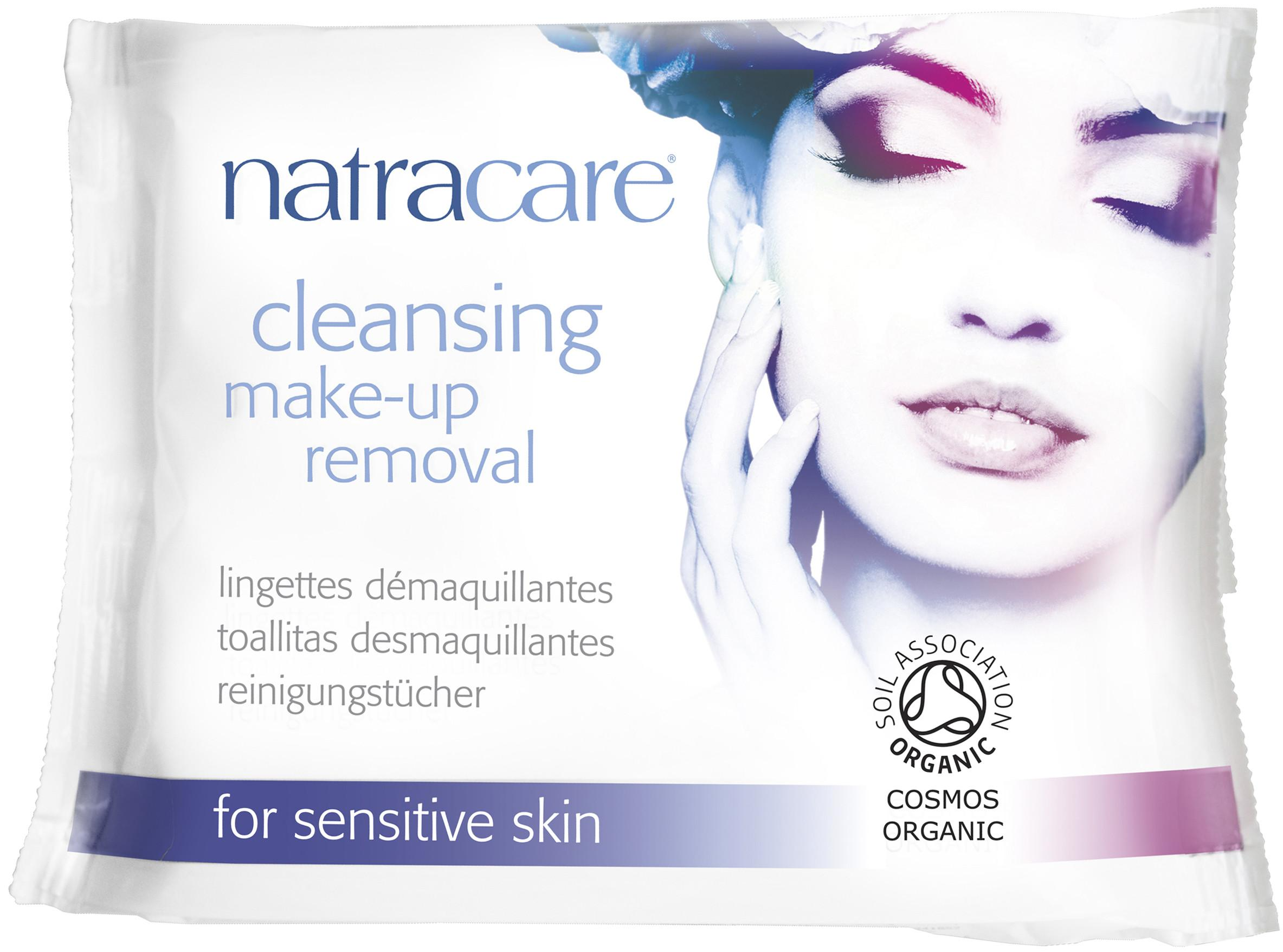 Natracare Organic Cleansing Make Removal Wipes