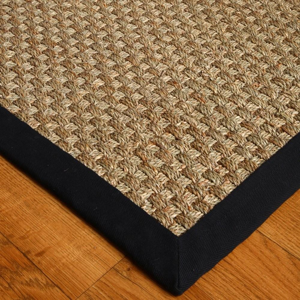 Natural Area Rugs Seagrass Lancaster Black Rug