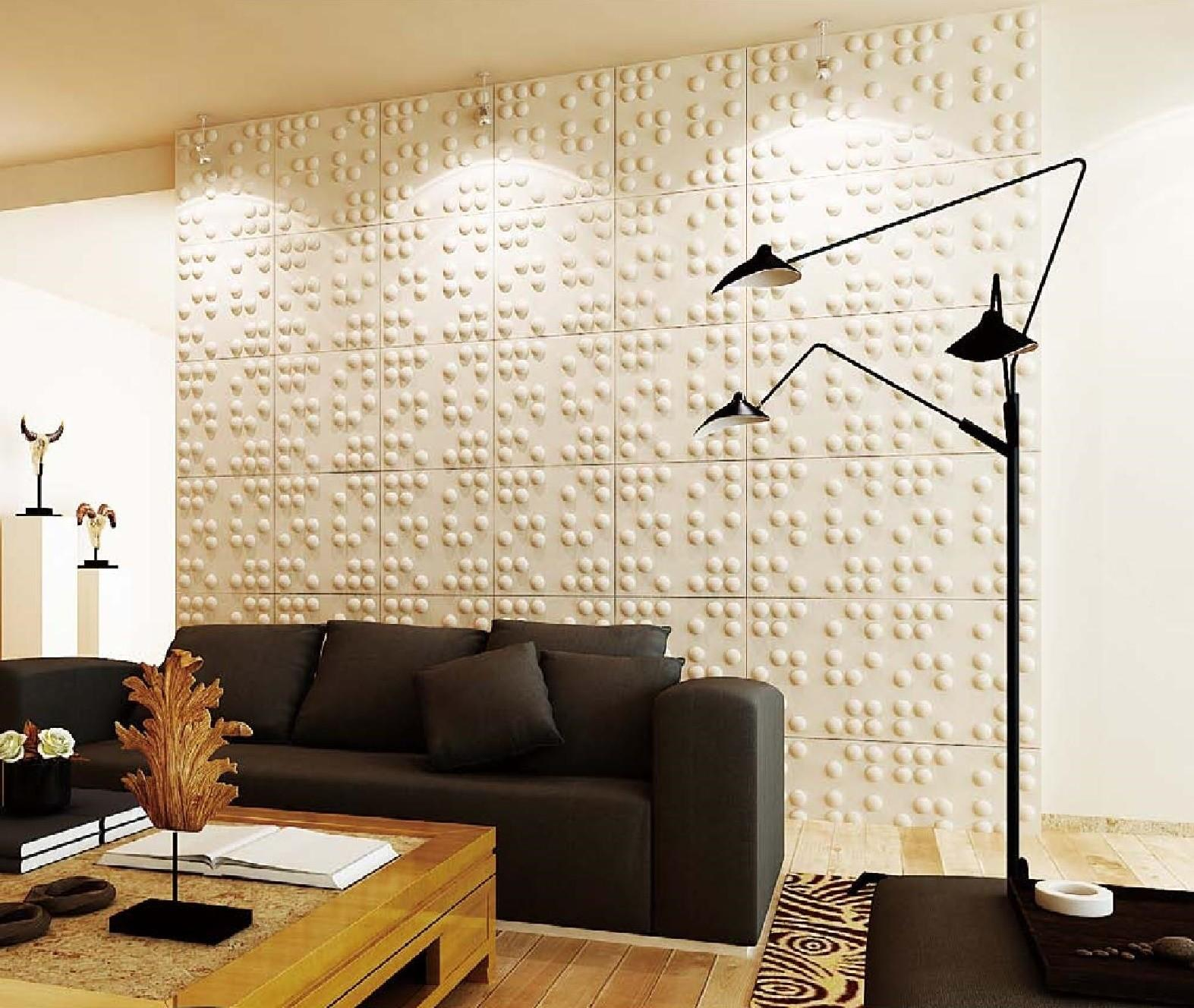 Natural Bamboo Wall Panel Decorative Ceiling Tiles
