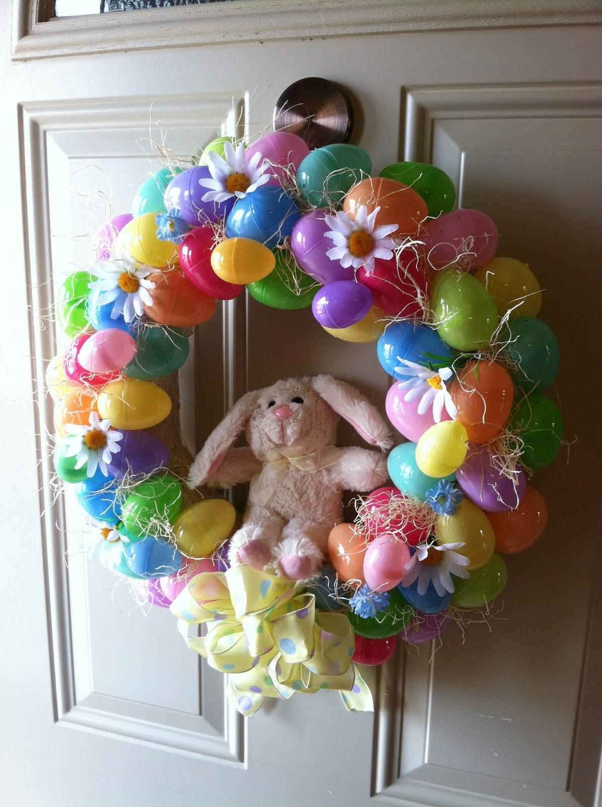 Natural Homemade Living Diy Easter Wreath