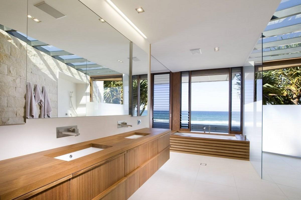 Natural Luxury Contemporary Modern Beach House Has