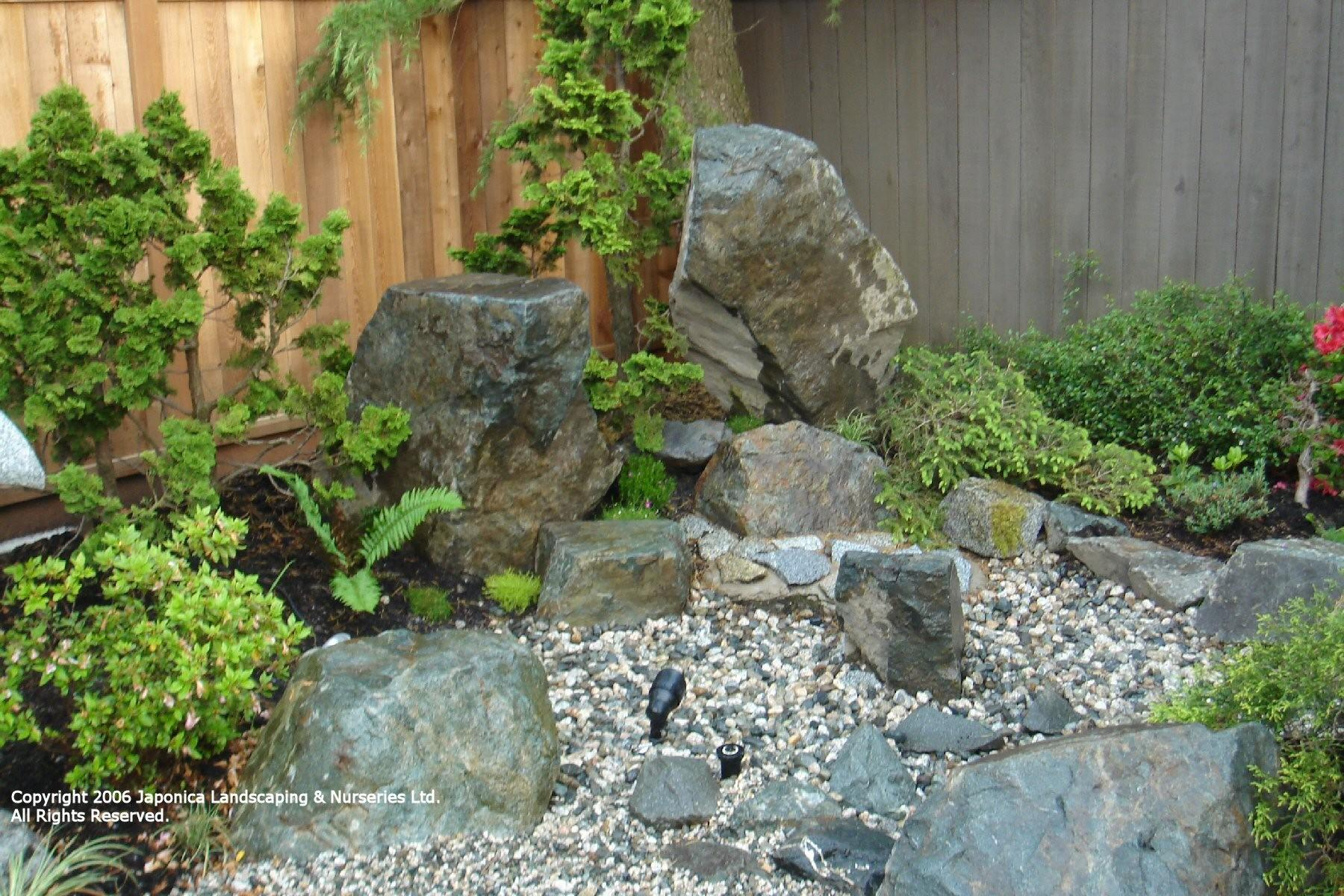 Natural Rock Landscape Top Easy Design Diy Backyard