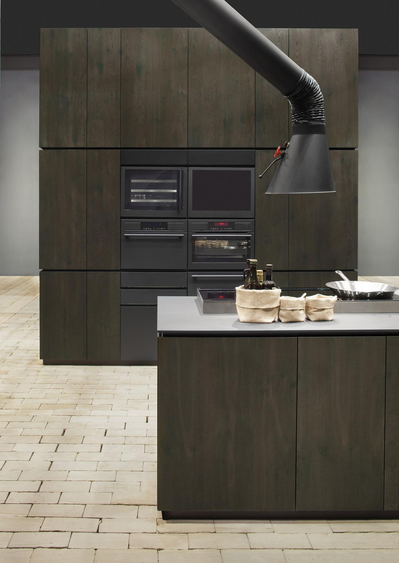 Natural Skin Kitchen Island Minacciolo Design