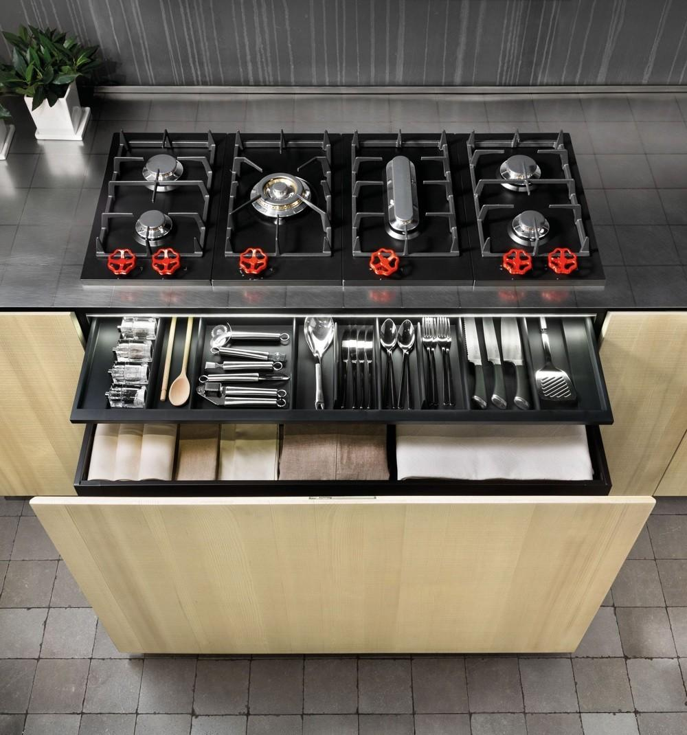 Natural Skin Kitchen Minacciolo Industrial Sleek