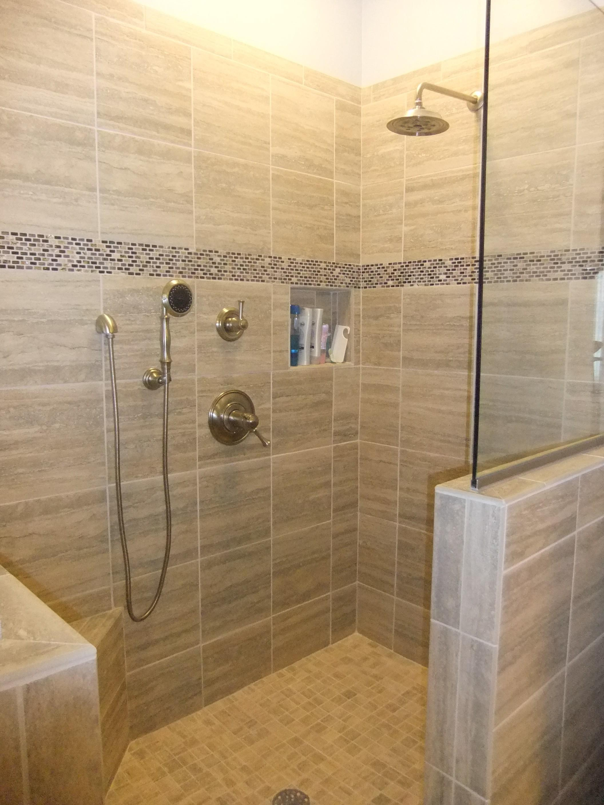 Natural Stone Bathroom Wall Tiles Agreeable Interior