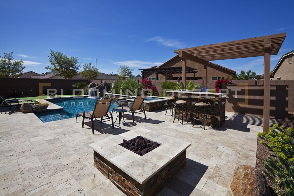 Natural Stone Trends Pools