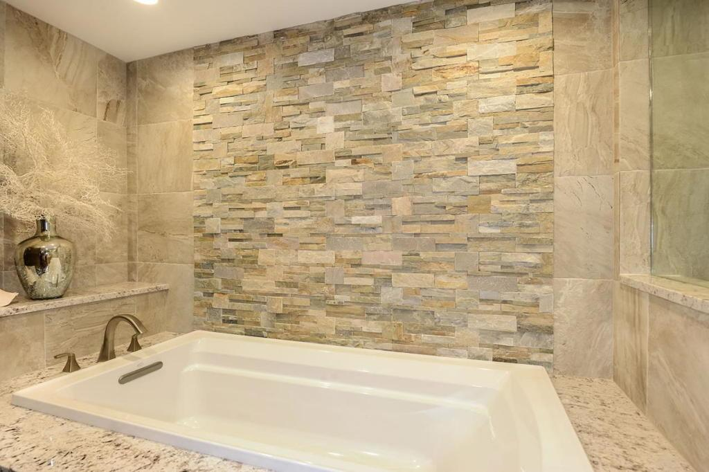 Natural Textured Stone Wall Accents Rustic Look Home