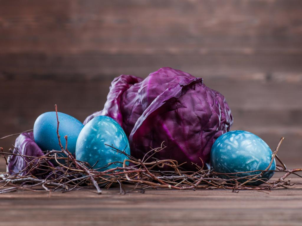 Naturally Dyed Easter Eggs Tru Value Foods
