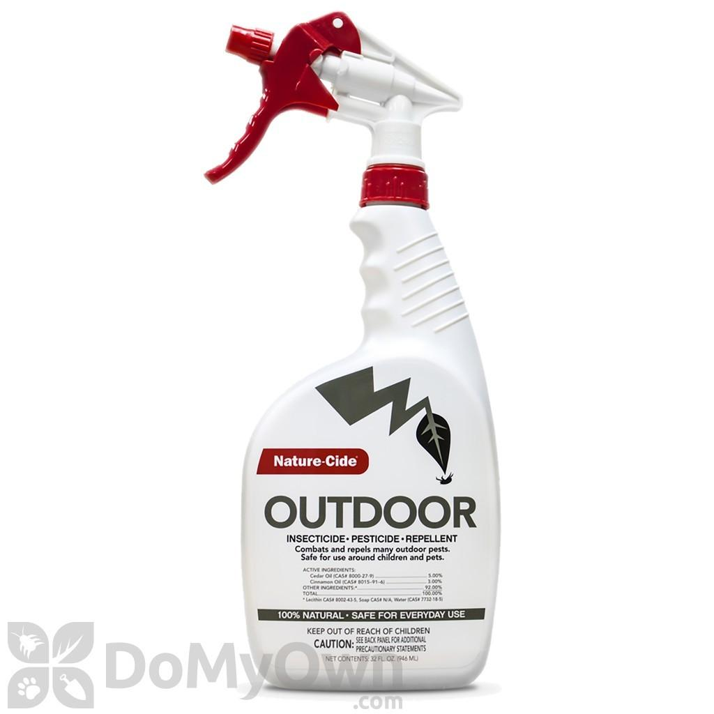 Nature Cide Outdoor Insecticide Pesticide Repellent