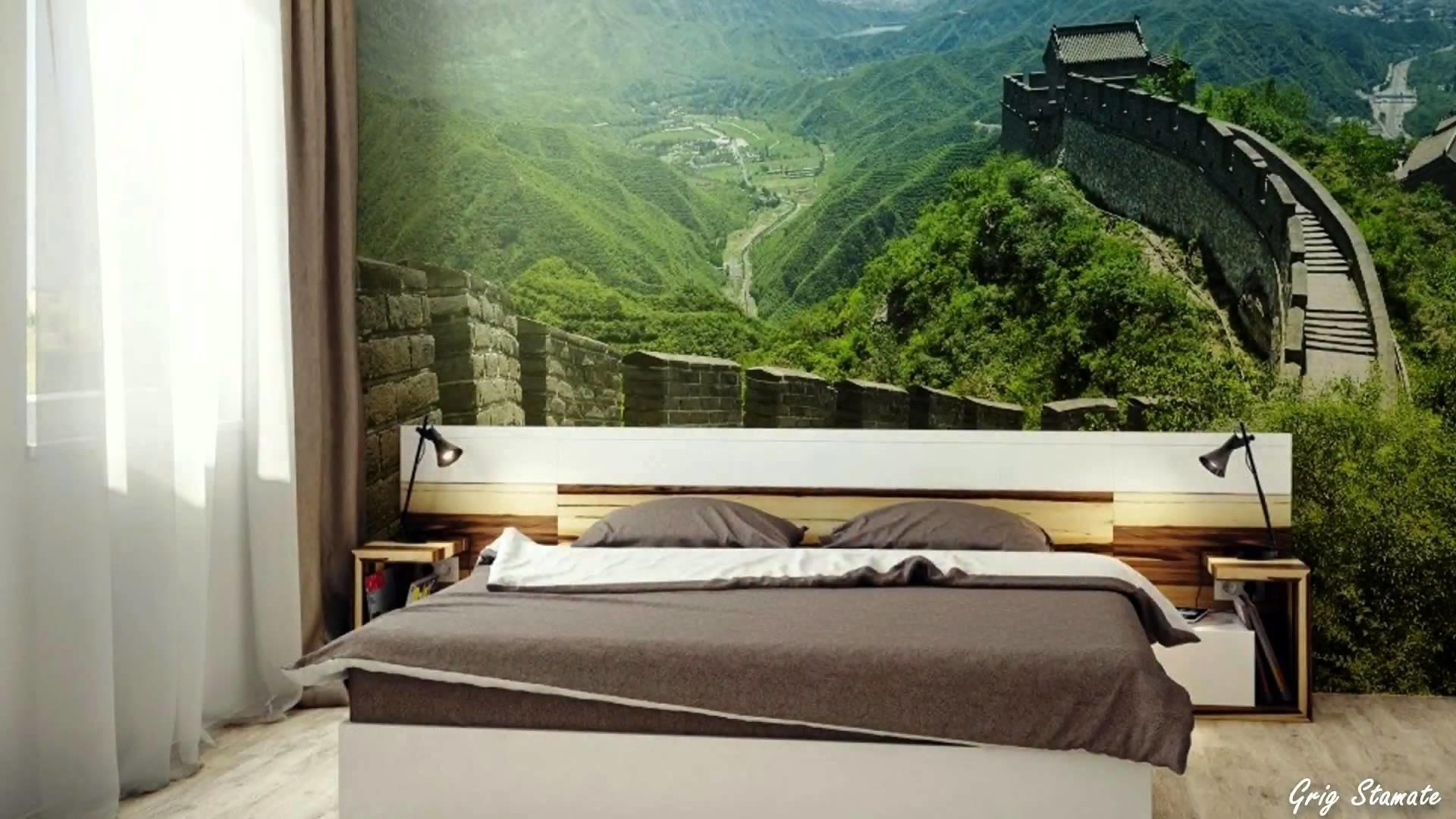 Nature Inspired Wall Murals Make Your Home Look Bigger