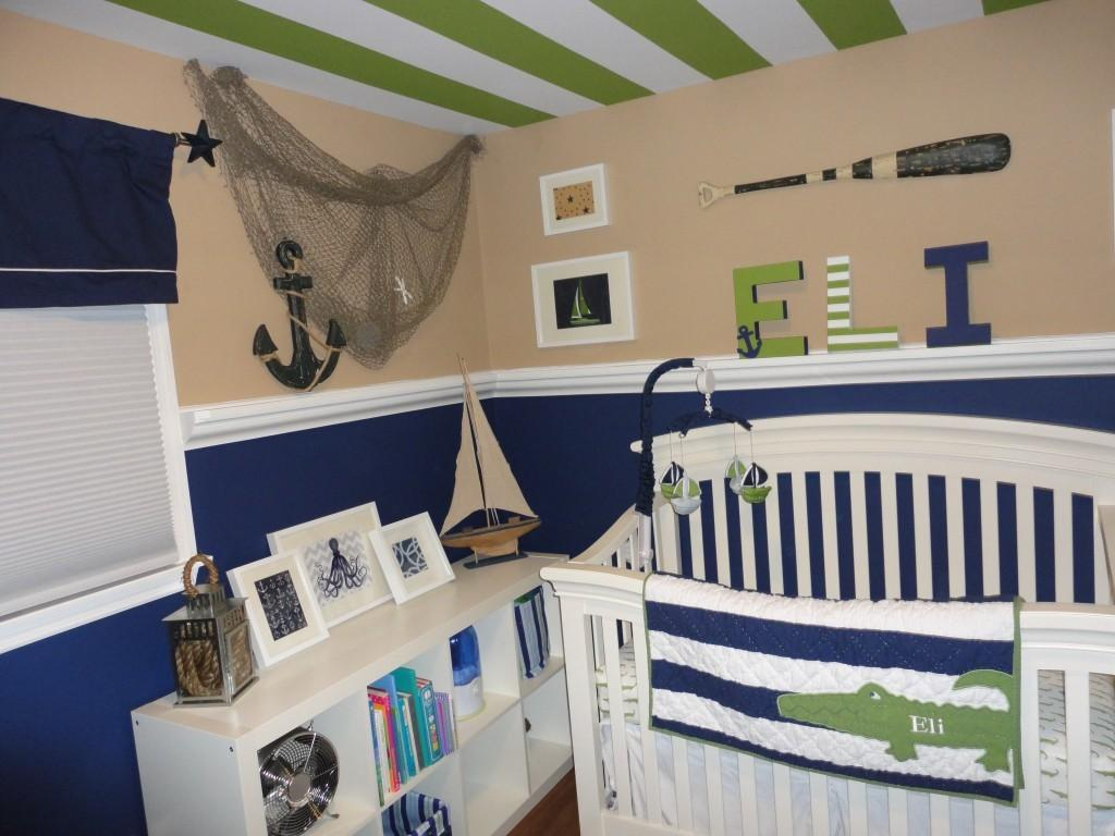 Nautical Nursery Decor Style Modern Home Interiors
