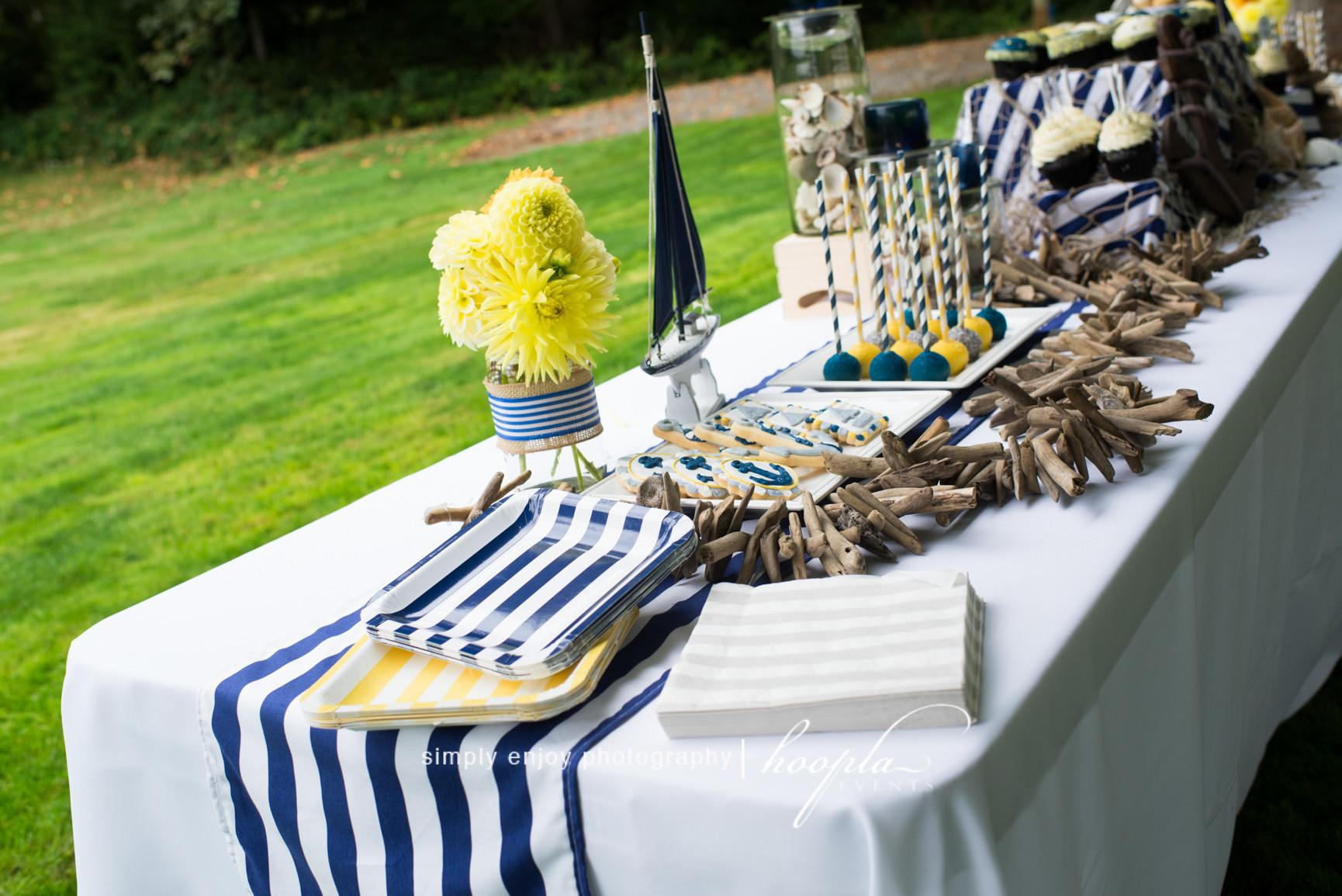 Nautical Theme Baby Shower Hoopla Events Krista Byrne