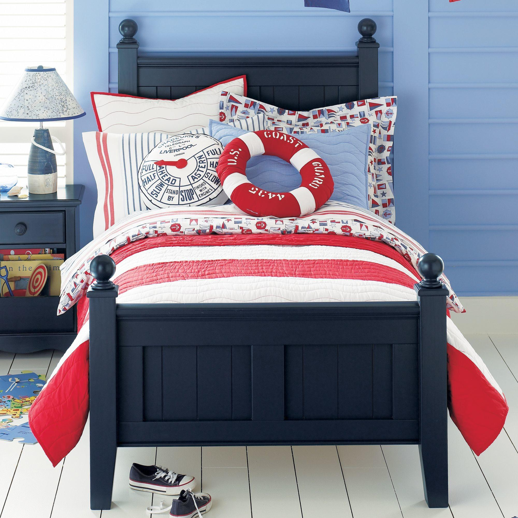 Nautical Theme Colorful Kids Rooms