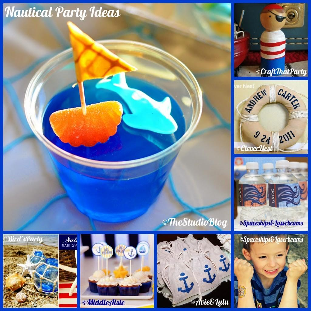 Nautical Themed Birthday Party Crafts
