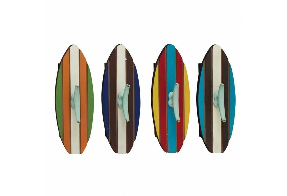 Nautical Wall Decor Cleats Hooks Surfboards