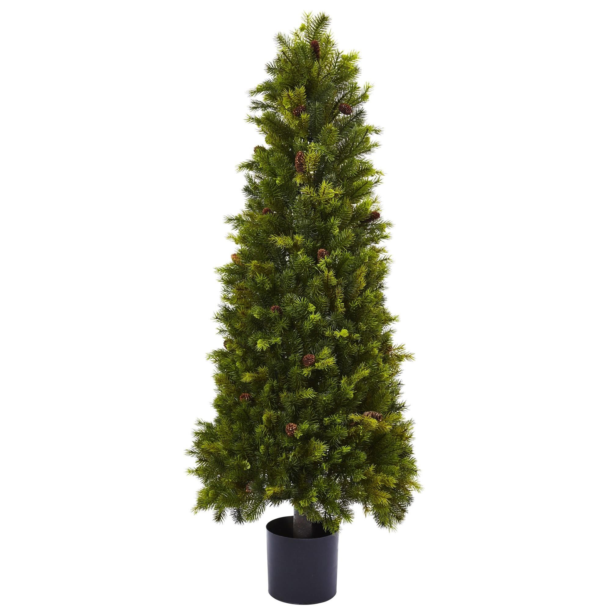 Nearly Natural Green Pine Artificial Christmas Tree