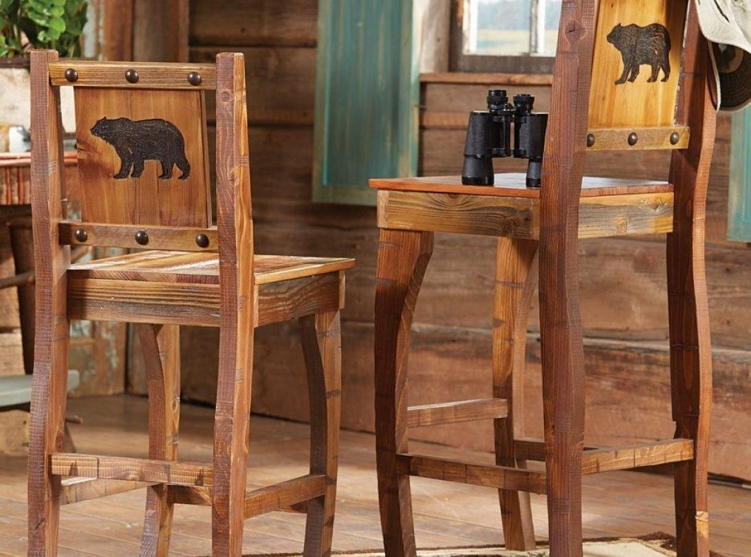 Neat Bar Stools Along Backs Ideas Homemade Woven