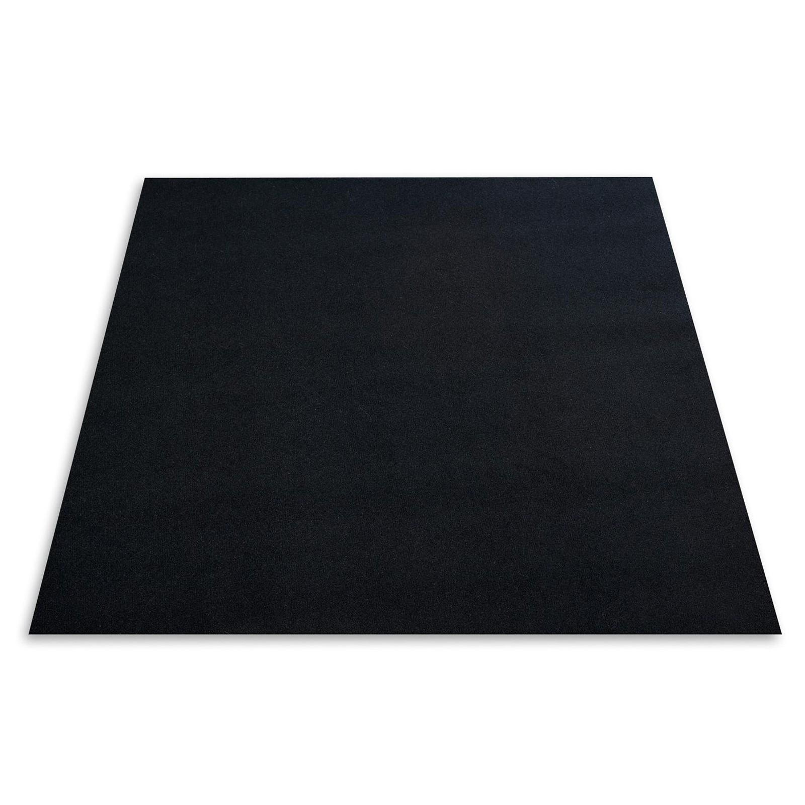 Needle Felt Carpet Destiny Black