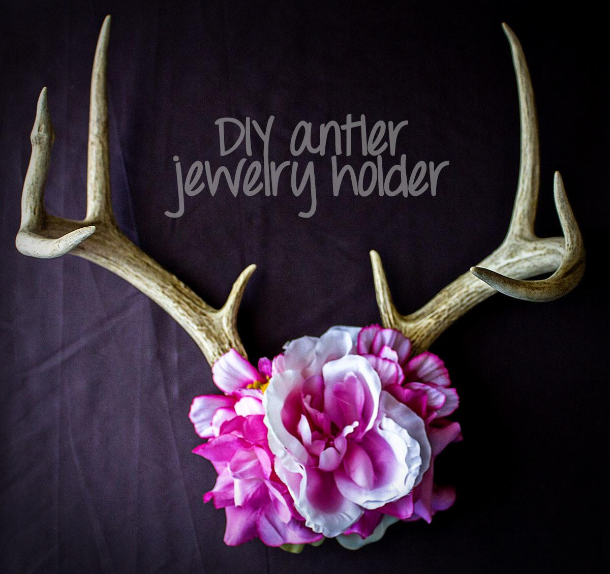 Neha Made Antler Jewelry Holder