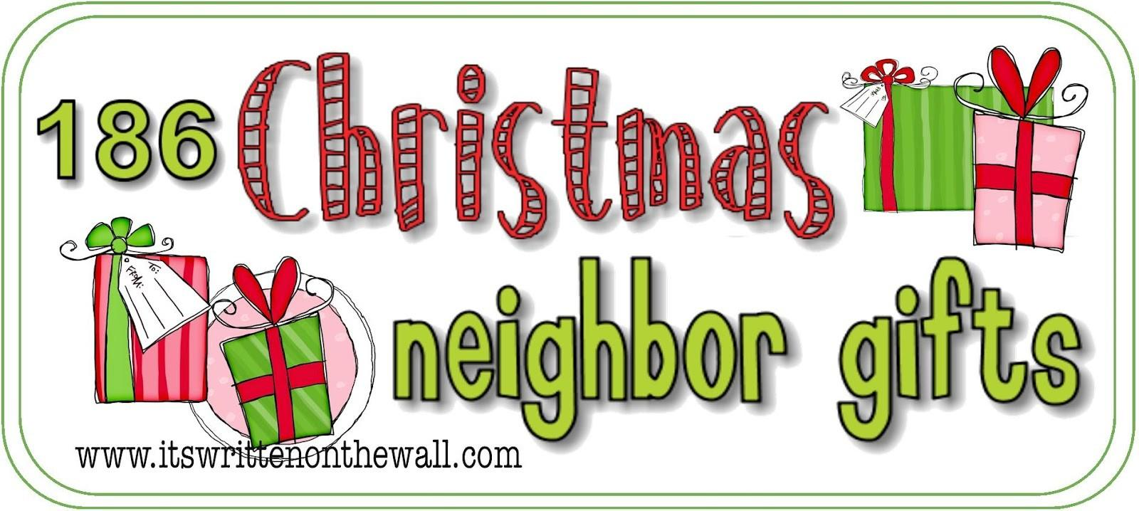 Neighbor Teacher Christmas Gift Ideas Pinpoint