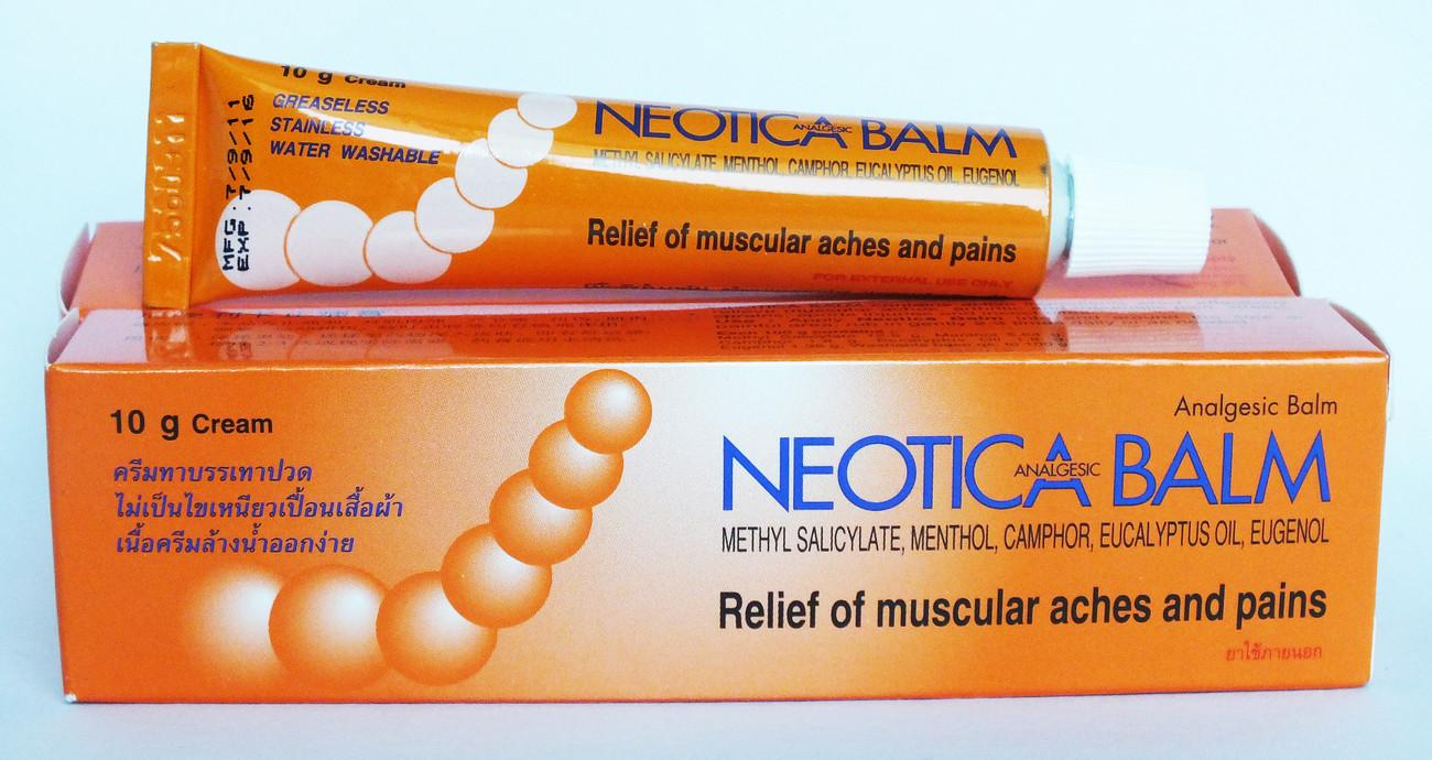 Neotica Analgesic Balm Relief Muscule Aches Sport Pains