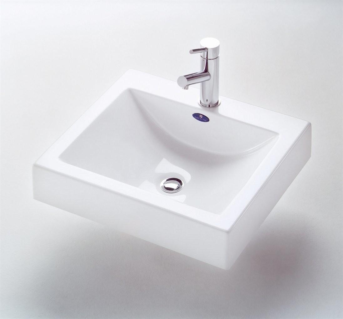 Neptune Zen Polymer Self Rimming Bath Sink