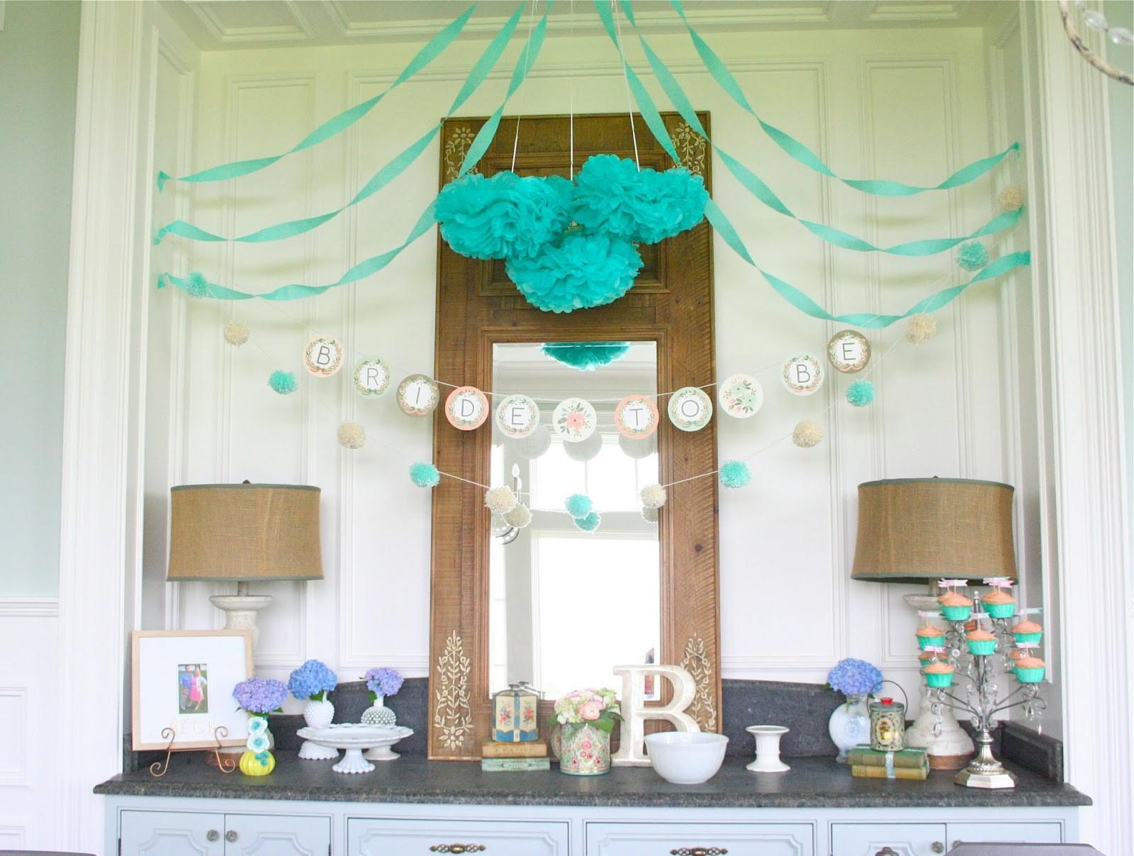 Nesting Bluegrass Bridal Shower Ideas