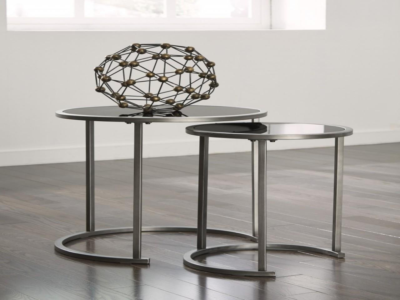 Nesting End Tables Living Room Traditional