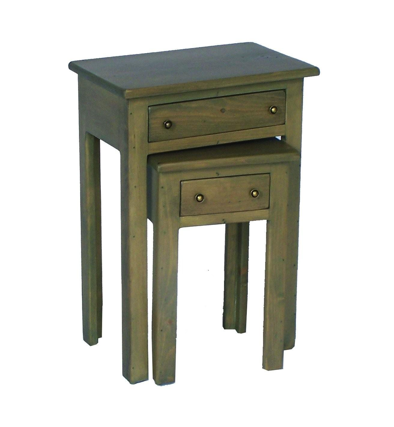 Nesting Tables Drawers Day Designs Rustic