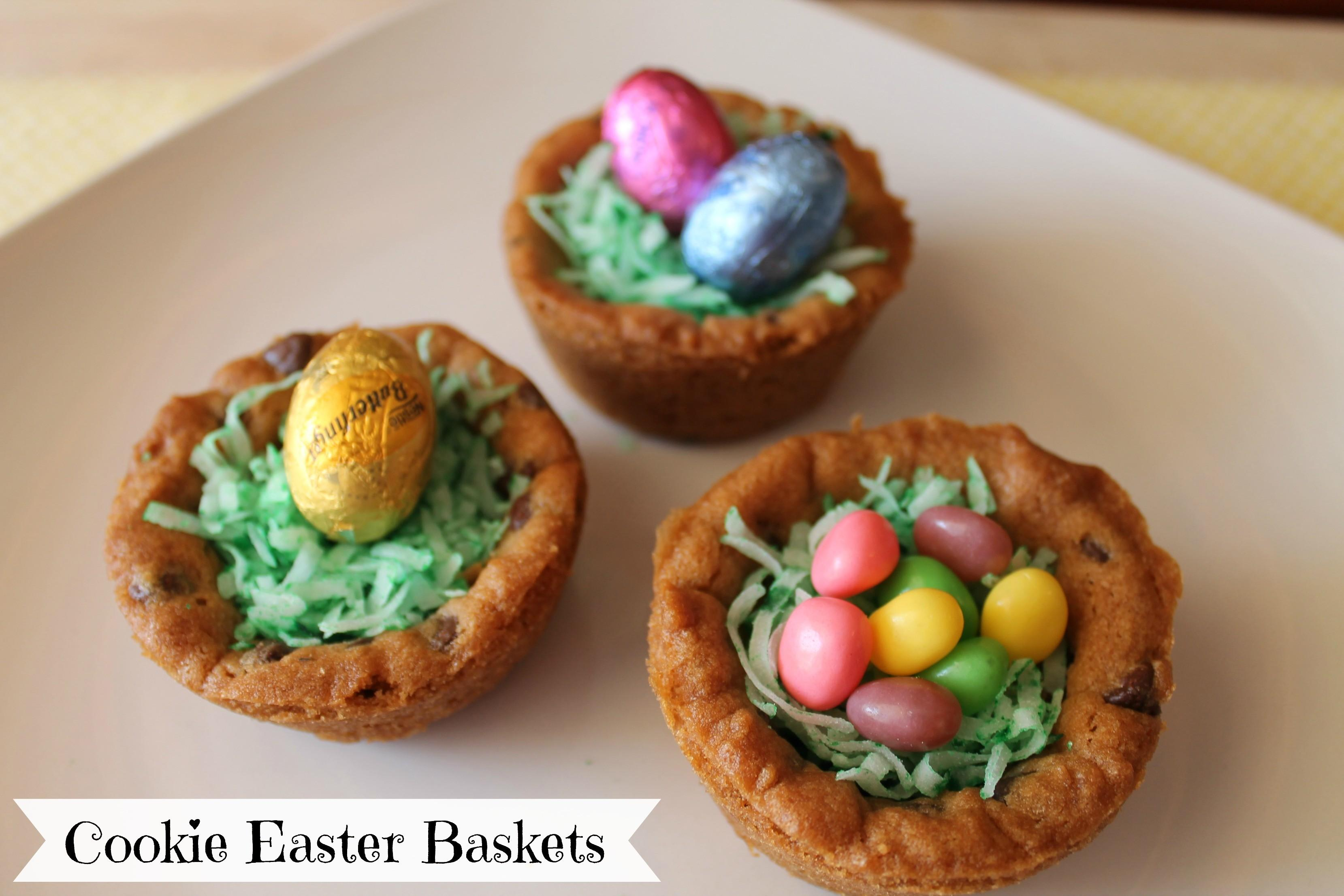 Nestle Chocolate Chip Easter Baskets