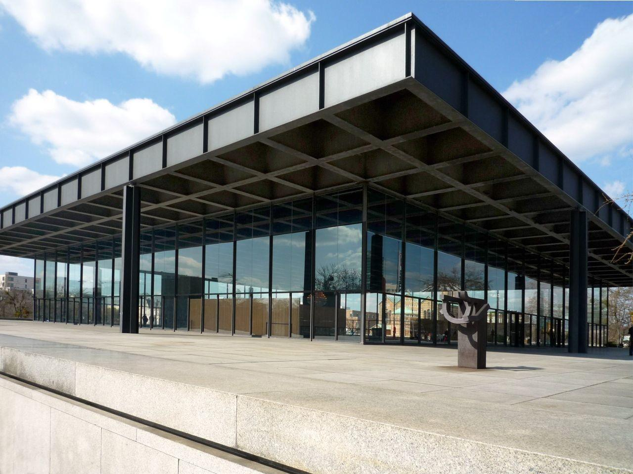 Neue Nationalgalerie Berlin Wikimedia Commons