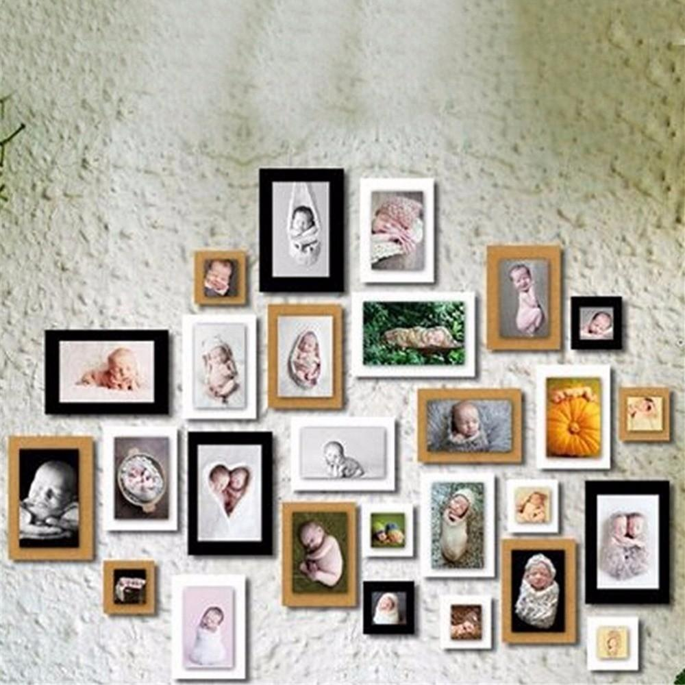 New 7pcs Inch Diy Paper Frames
