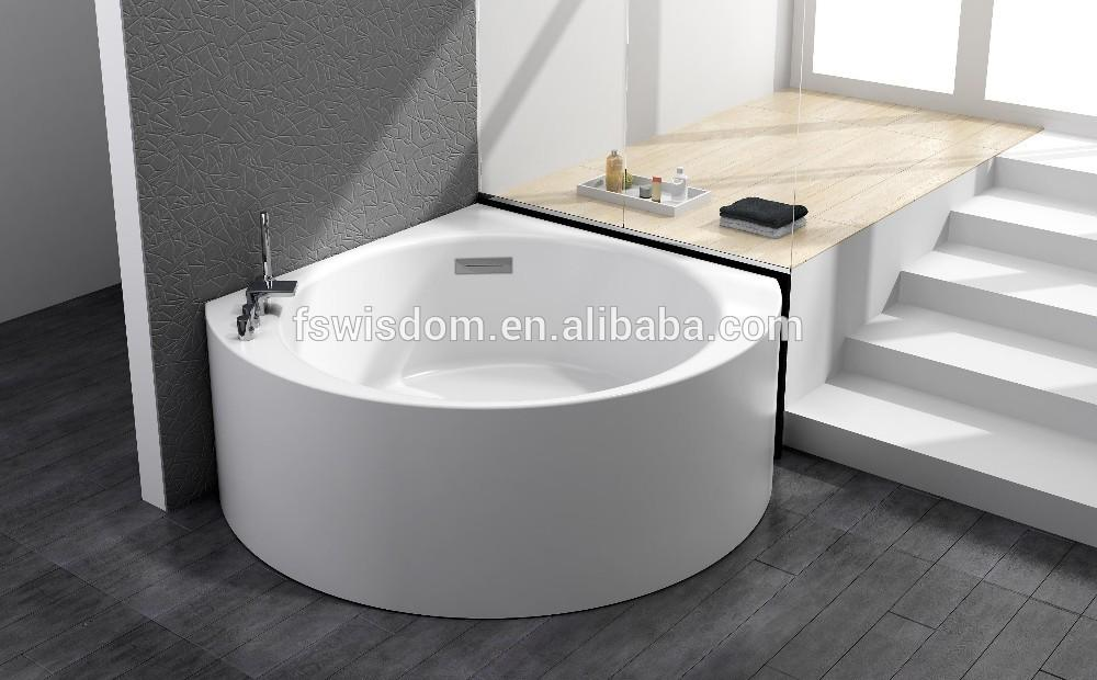 New Acrylic Freestanding Round Corner Bathtub Wd6471 Buy