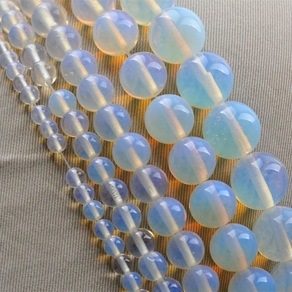 New Arrival Diy Round Moonstone Natural Stone Bead Jewelry