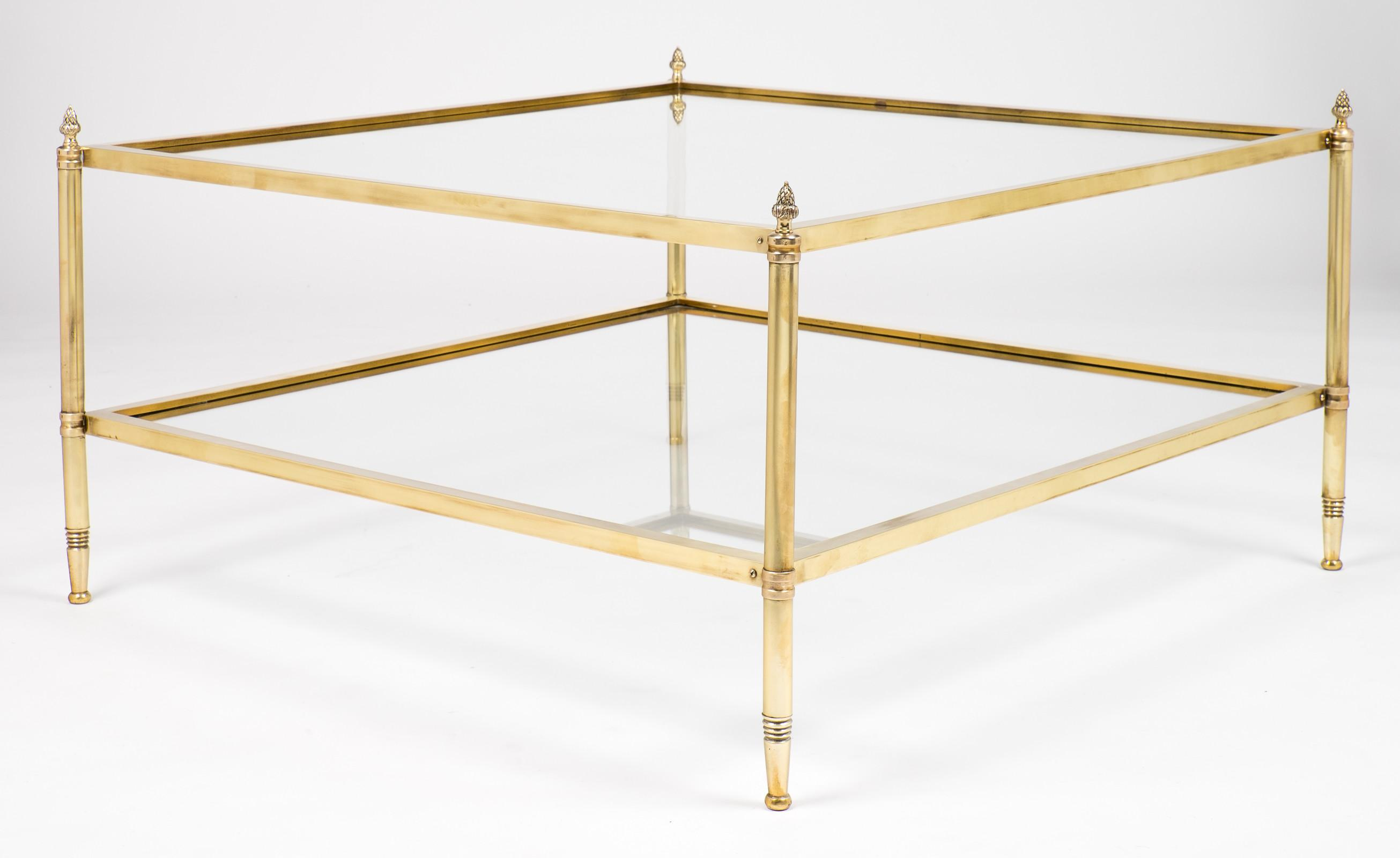 New Brass Glass Coffee Tables Your Home Design
