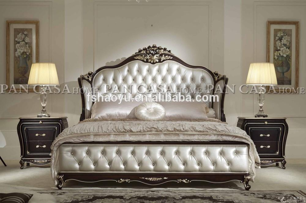 New Classic Bedroom Furniture Bed French Provincial