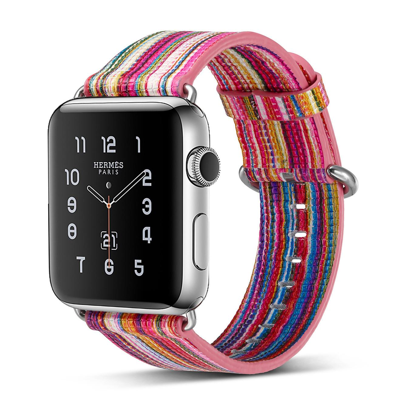 New Colorful Multicolor Band Apple Watch 42mm