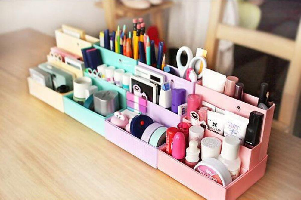 New Cosmetic Organizer Clear Diy Makeup Drawers Holder