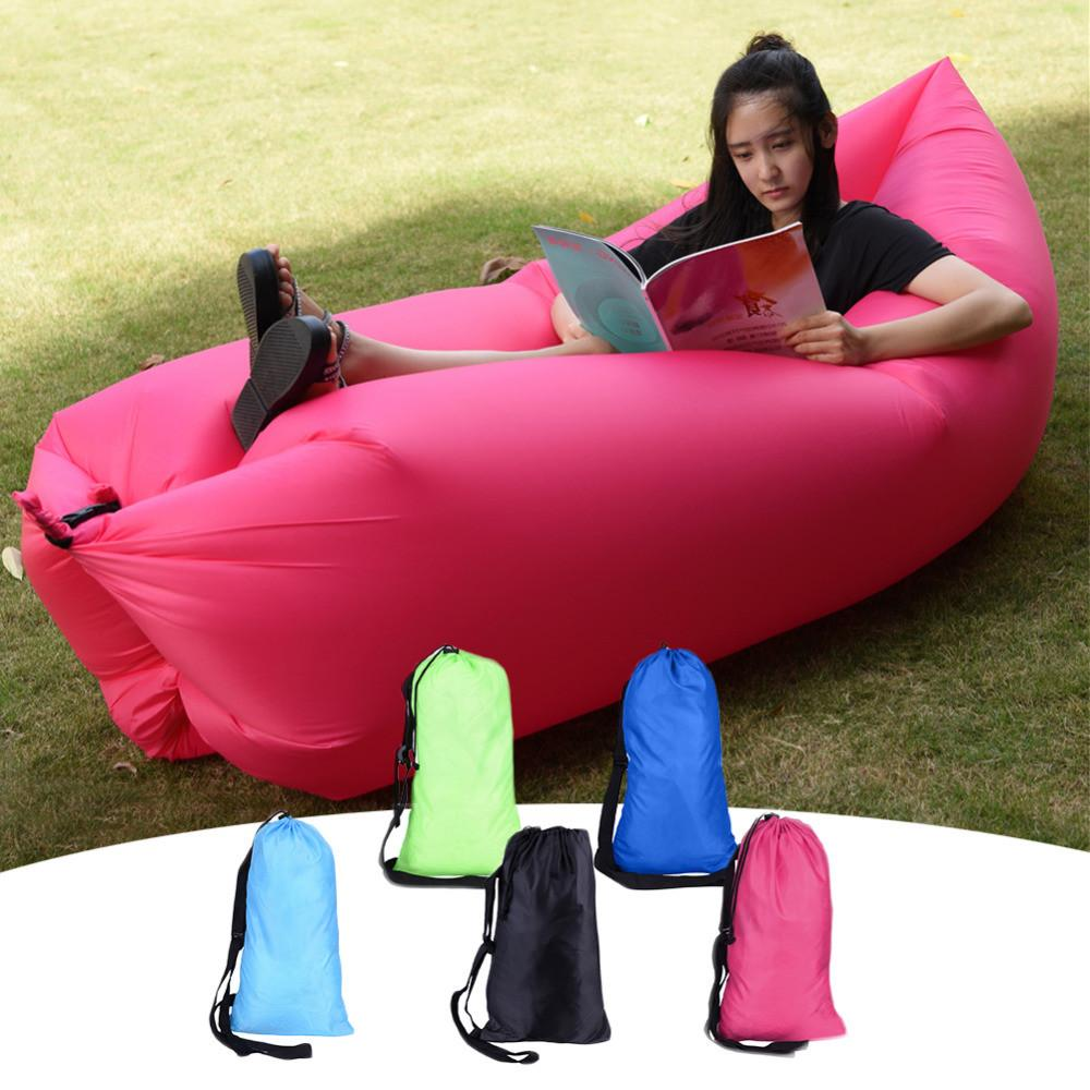 New Design Europe Portable Outdoor Inflatable Sofa Lazy