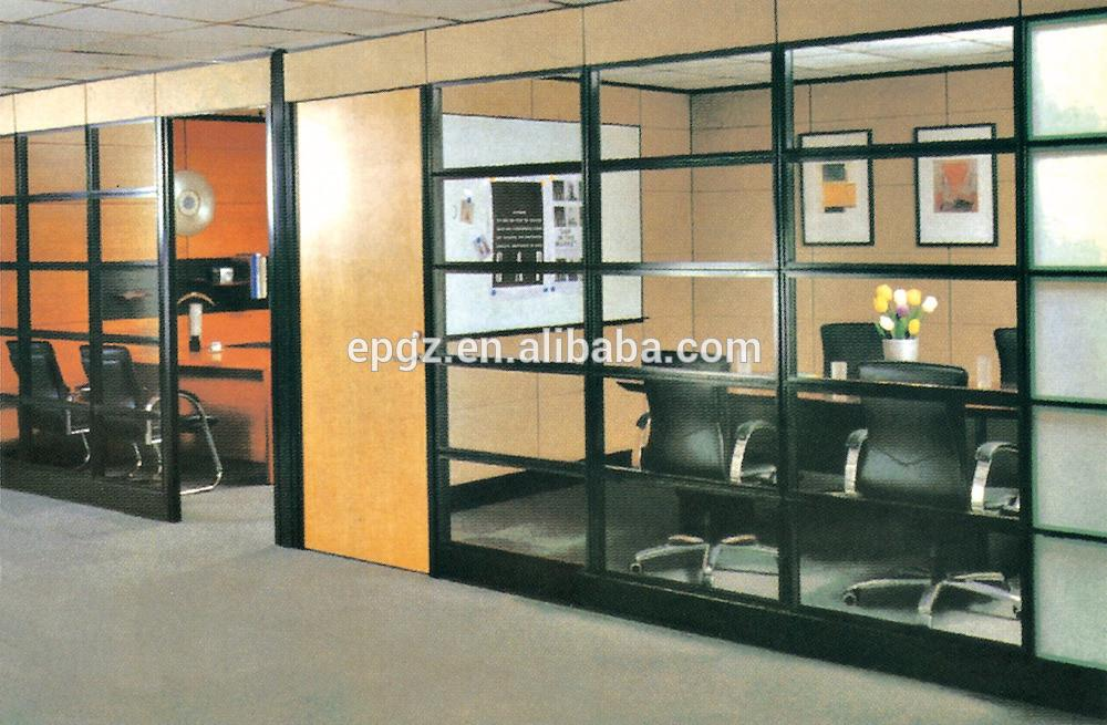 New Design Modern Office Partition Glass Soundproof