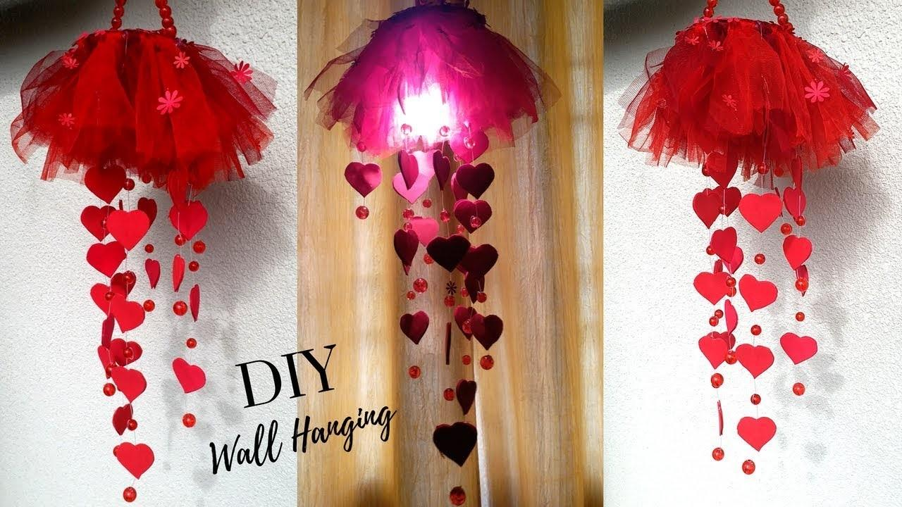 New Diy Heart Wall Hanging Craft Ideas Room Decoration Decoratorist 156519