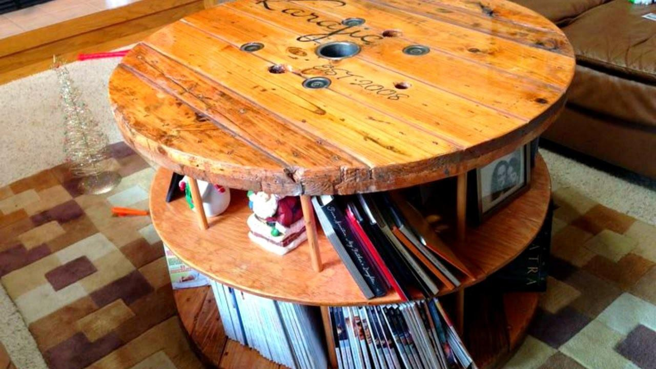 New Electrical Spool Table Creative Ideas 2016 Part