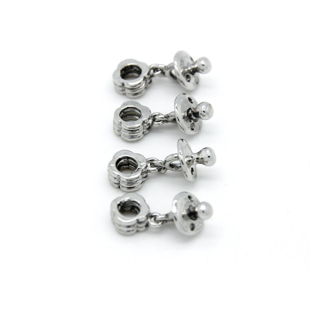 New European Pendant Silver Plated Beads Charm Women