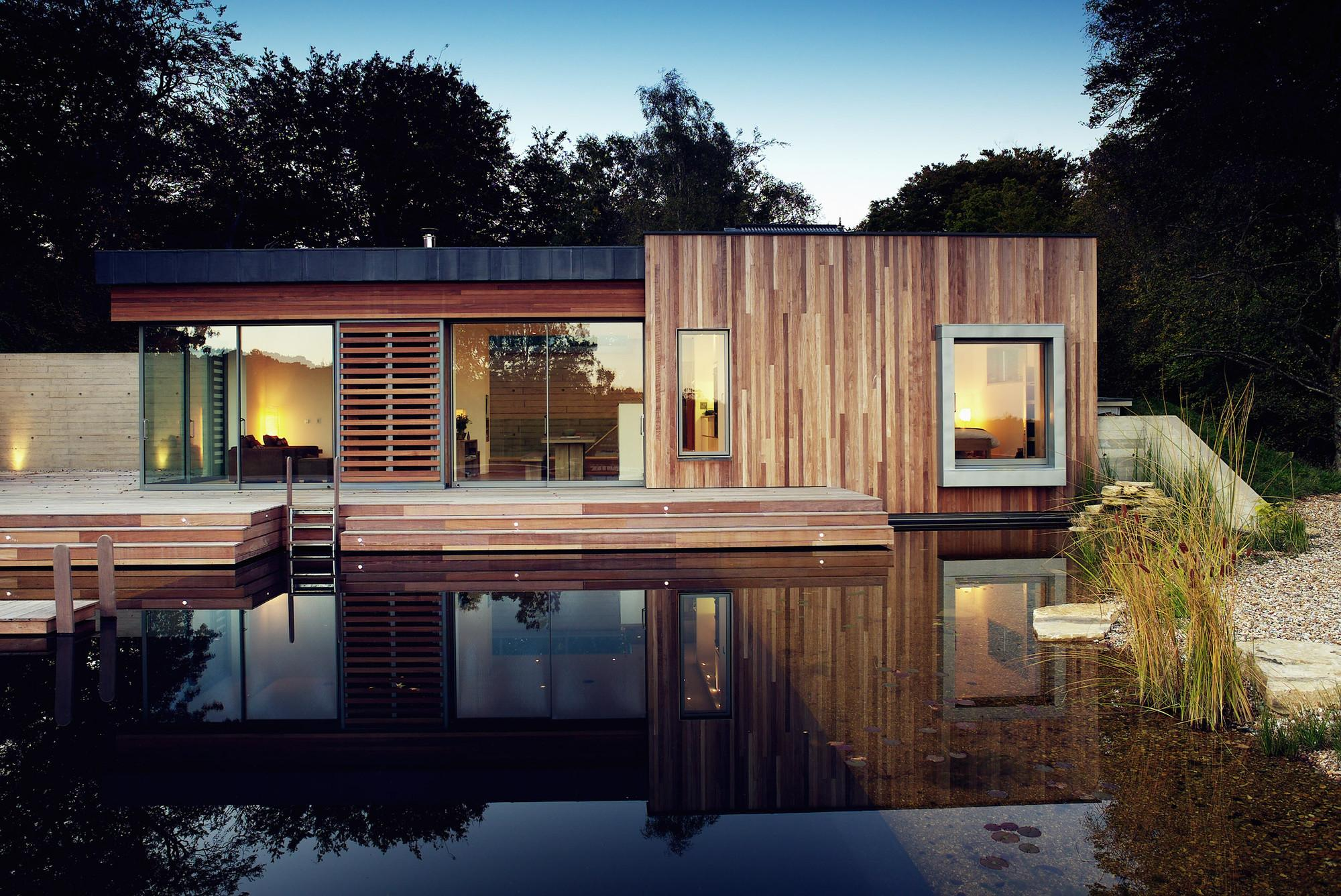 New Forest House Pad Studio Archdaily