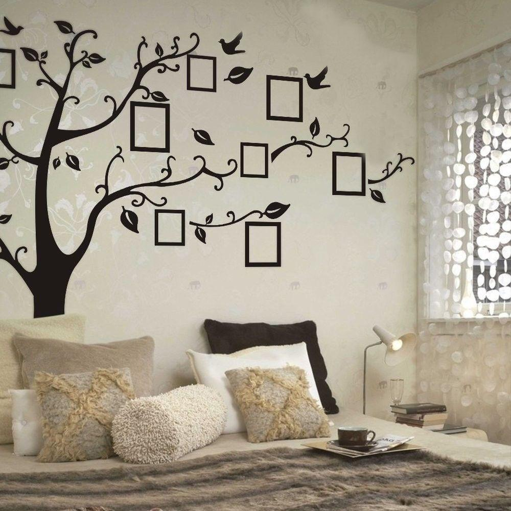 New Frame Family Tree Removable Wall Stickers Vinyl