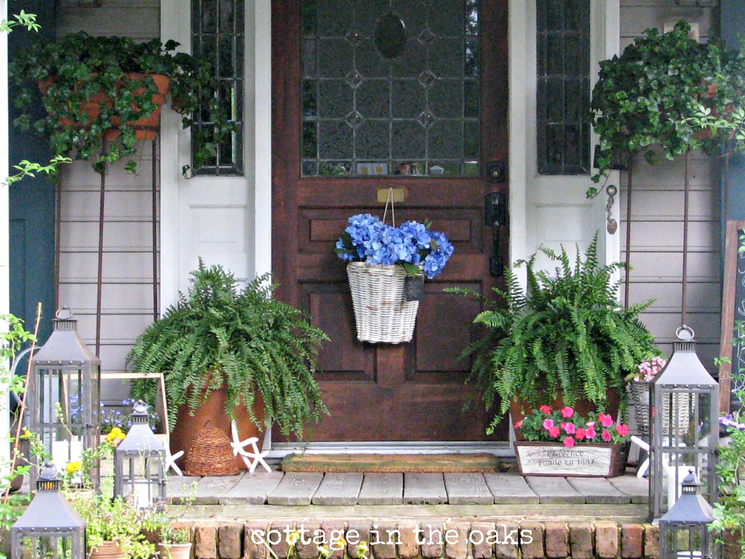 New Front Porch Summer Decorating Ideas