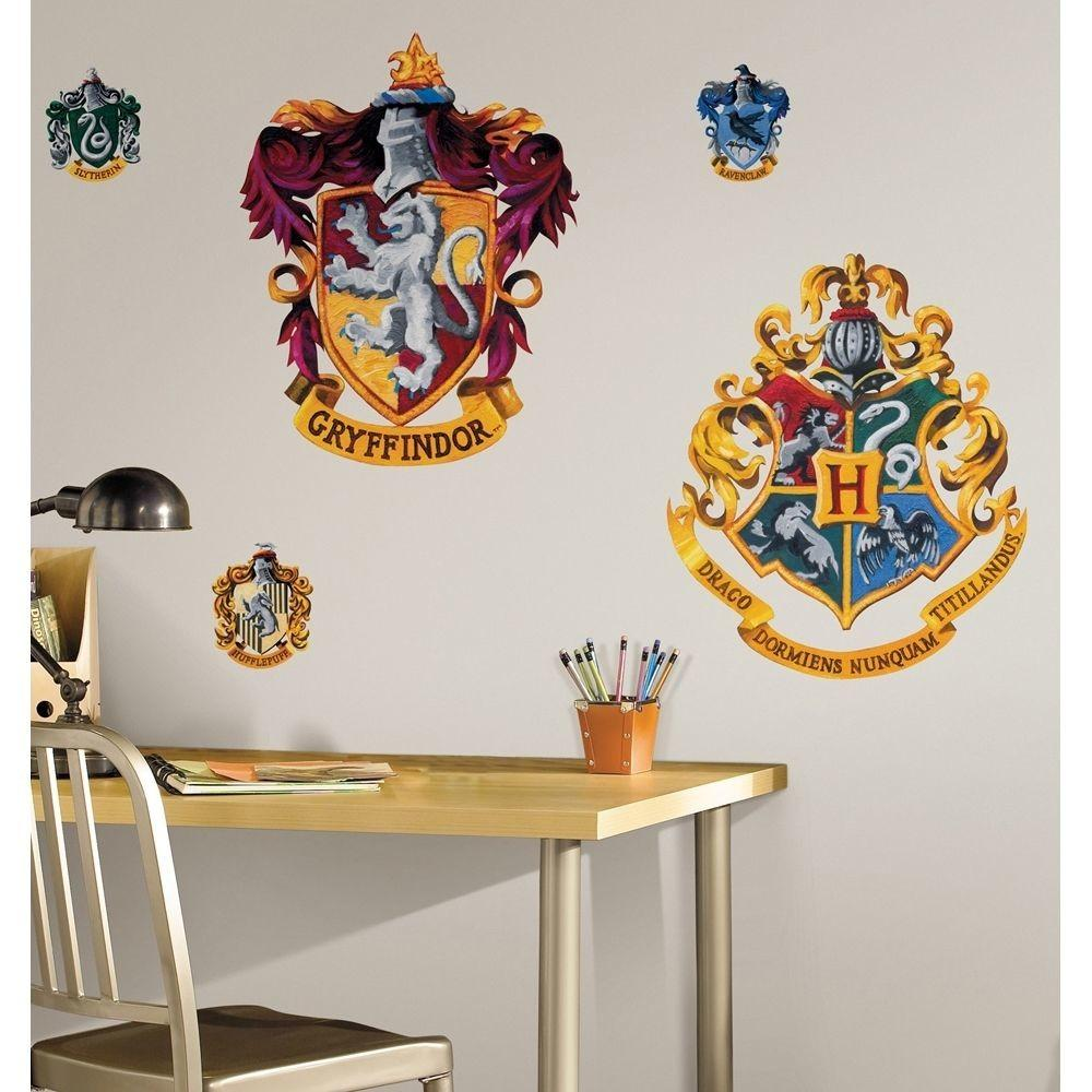 New Giant Hogwarts Crests Wall Decals Harry Potter