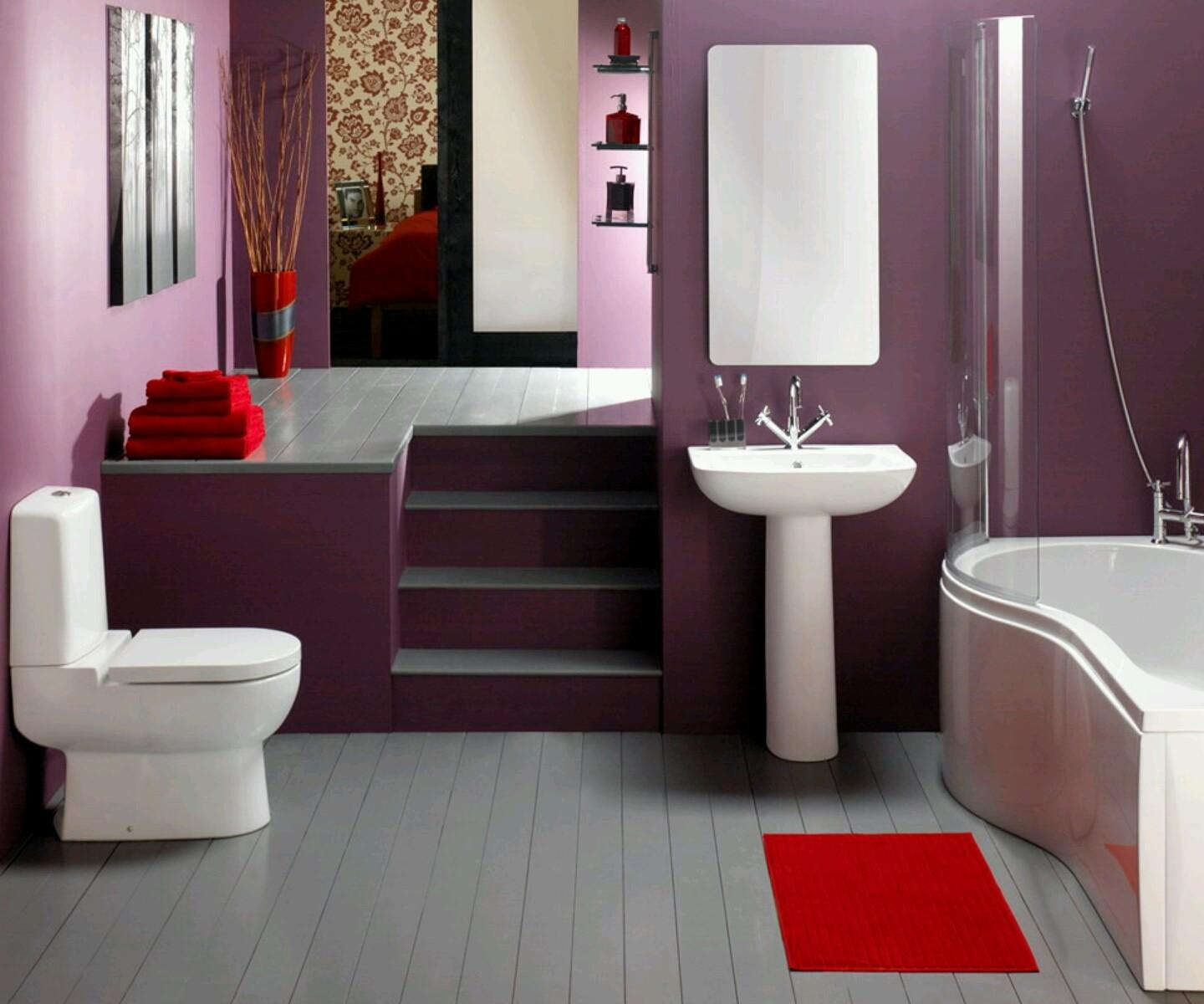 New Home Designs Latest Luxury Modern Bathrooms