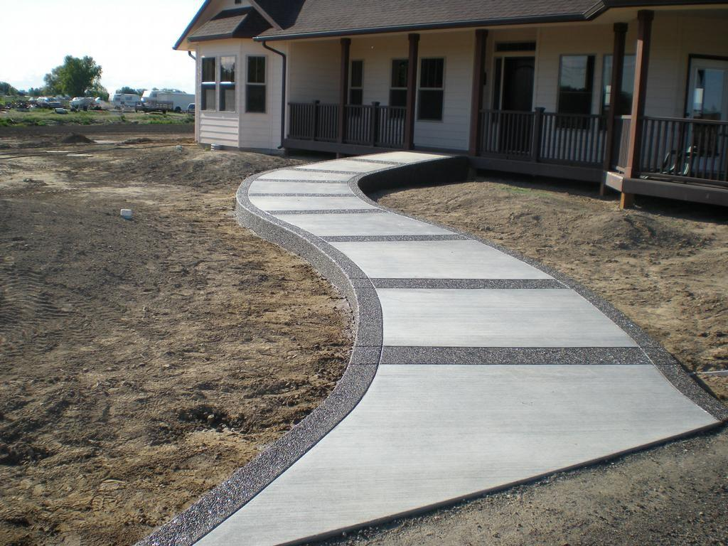 New Home Walkway Buchheit Construction